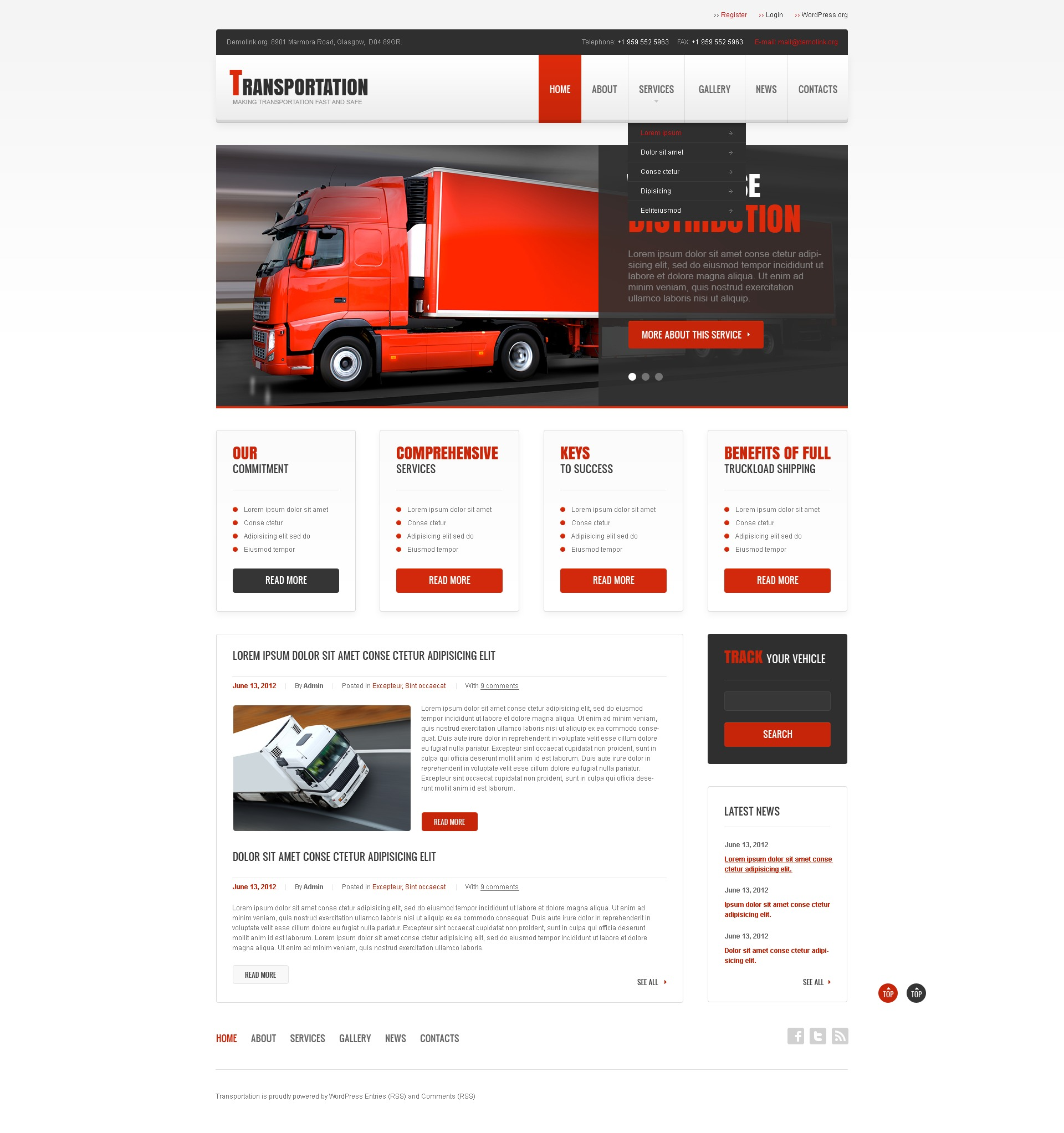 php website documentation template
