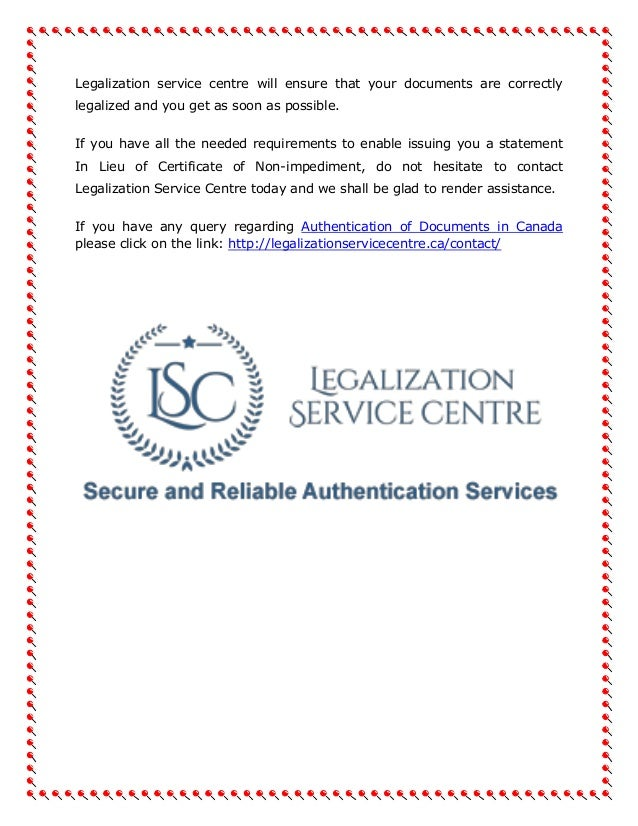 who can certify a document in canada