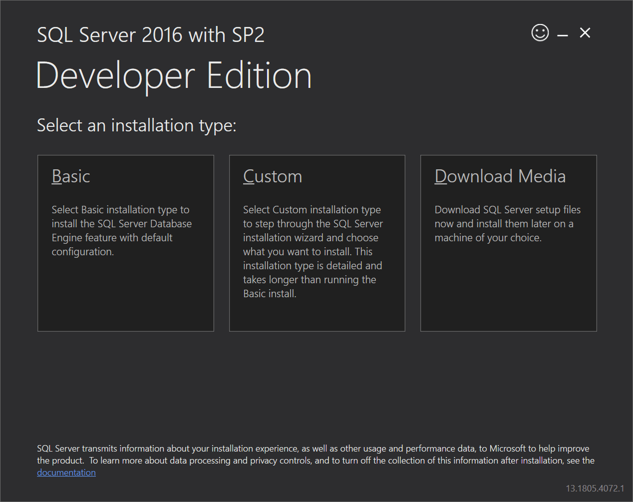 sql server 2016 documentation download