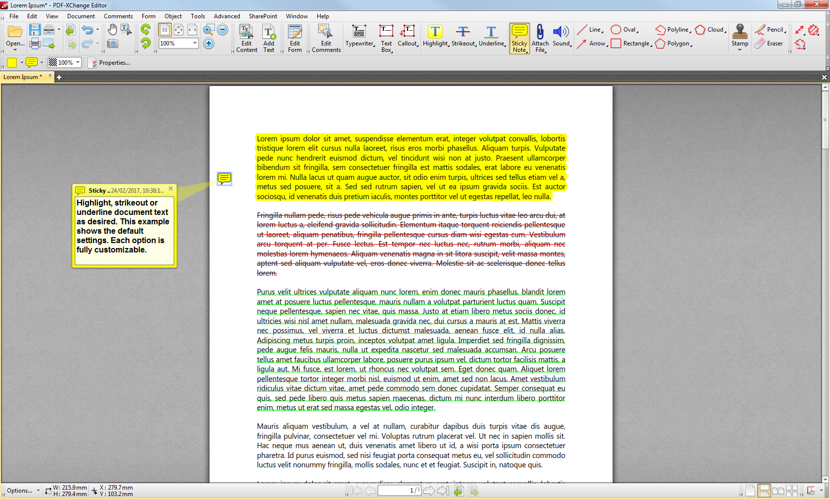 pdf document text editor online