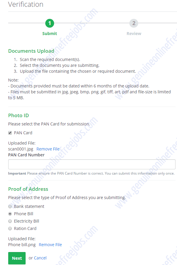 how can i verify the toefl document is genuine