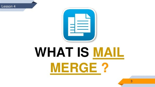 how to create a mail merge data document