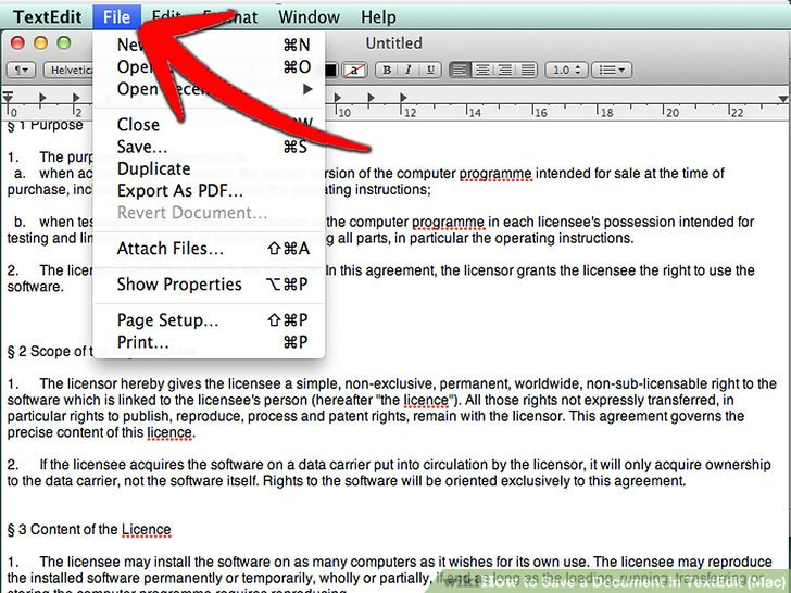 how to save document on macbook air