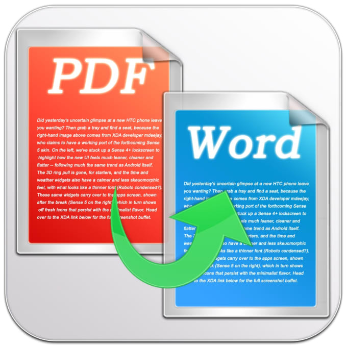 how to create a pdf file from a word document