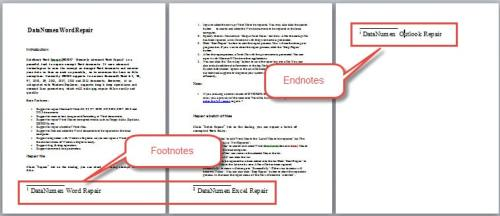 upload word document to convert to endnote file