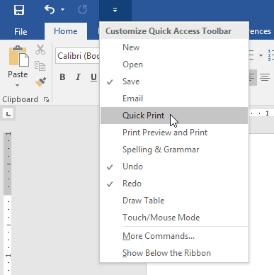 print word document from microsoft access