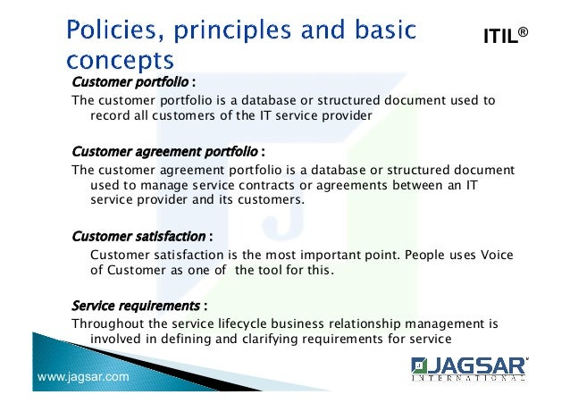 what are contracts used to document in itil