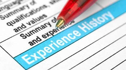 document to fill gaps in employment on resume