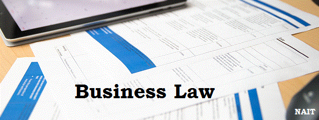 legislation publishing a business document