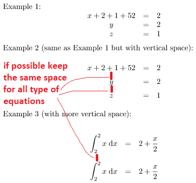 how to keep work document equations in text