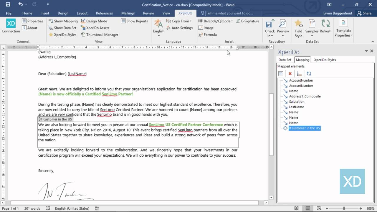 how to sign a microsoft word document