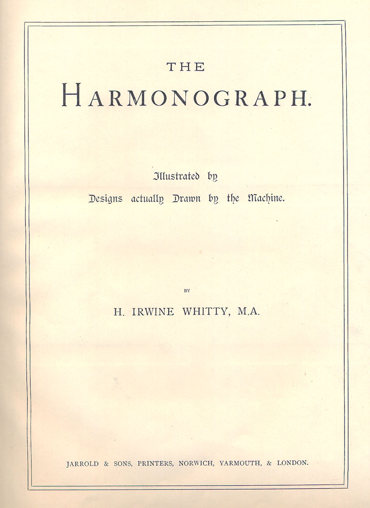 title page for construction drawing document