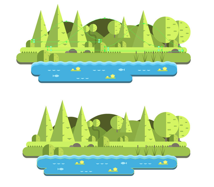 how to make a document landscape in illustrator