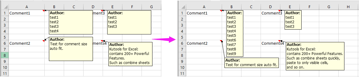 how to print comments in excel document