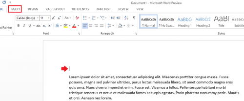 count how many words in a document