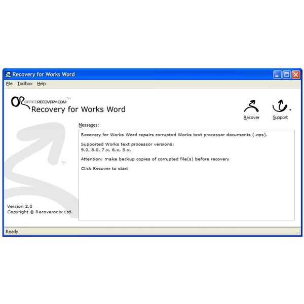 how can i open a microsoft works document with word