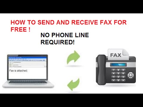 how to fax a document from your computer