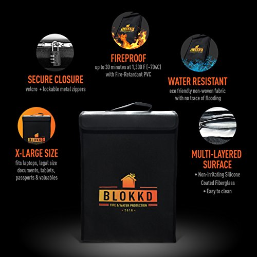 fire and waterproof document storage