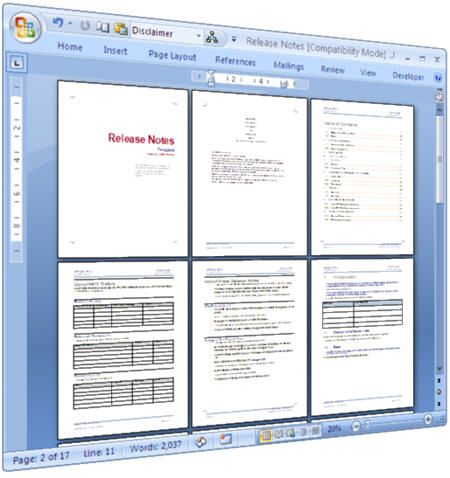 technical requirements document for website development