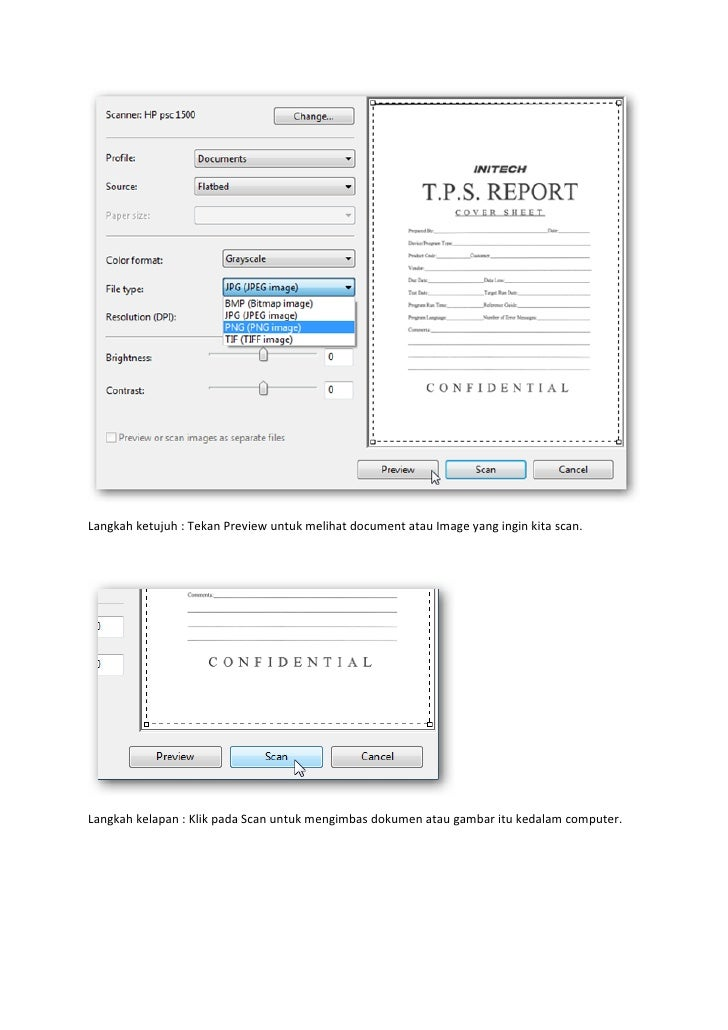 how to scan a document using scanner