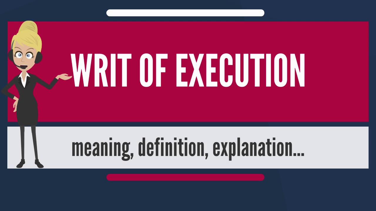 what does executed at on document mean