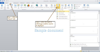 how to insert pages from another document in word 2013