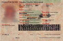 where is the passport document number located