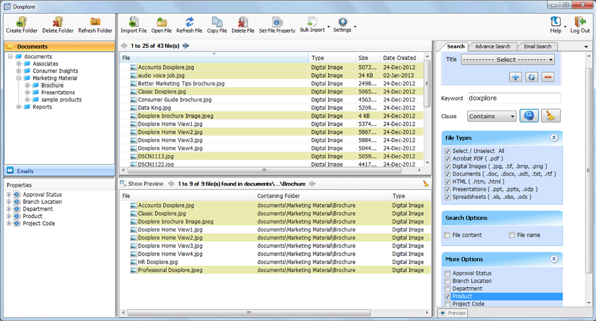 scanning software for document management