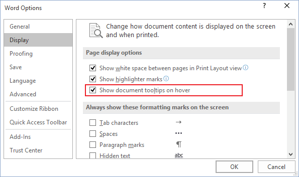how to check a box in a word document