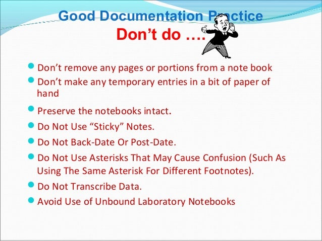 how to make a good documentation