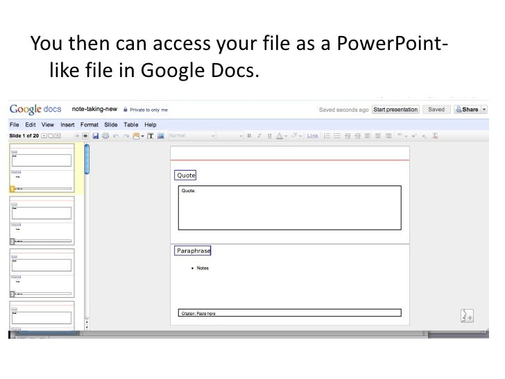 how to save a document on google docs