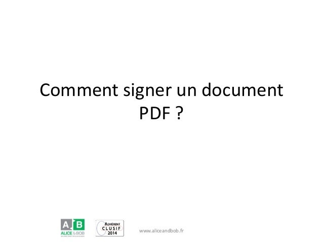 signing on a pdf document