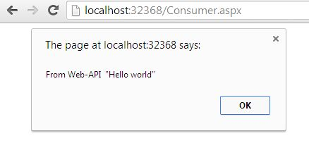 call webservice in the document get ready function