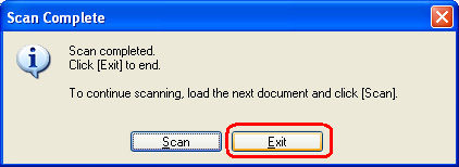 how to scan multiple pages into one document canon