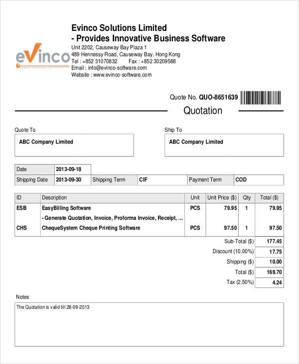 generate invoice word document sequential numbering