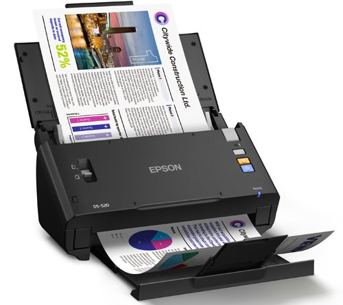 scanning with epson xp-235 document feeder