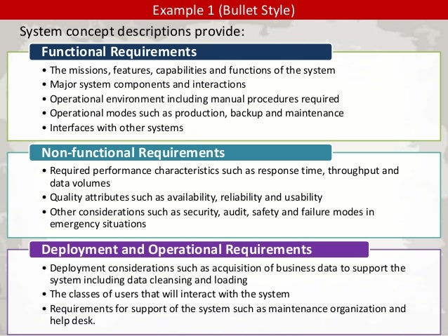 software system requirements document example