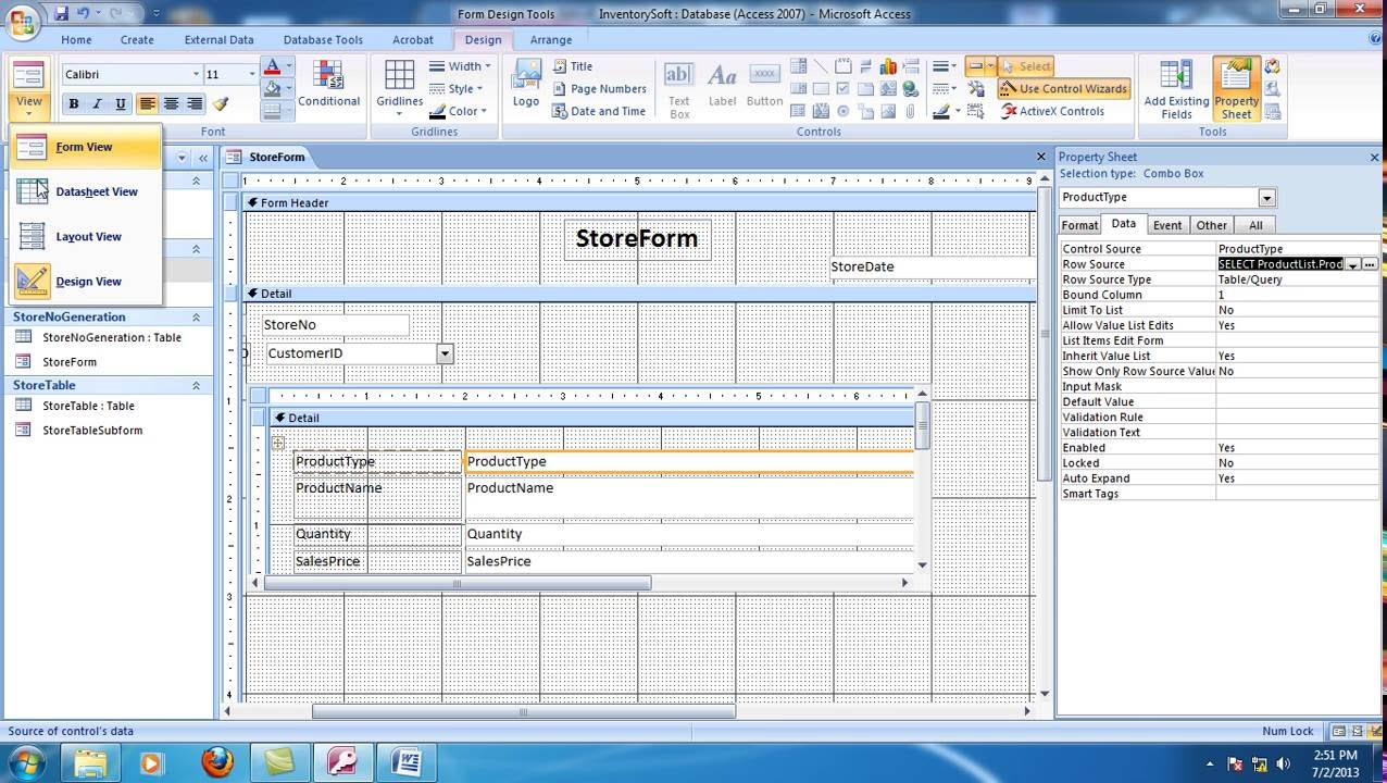inventory management system project in vb documentation