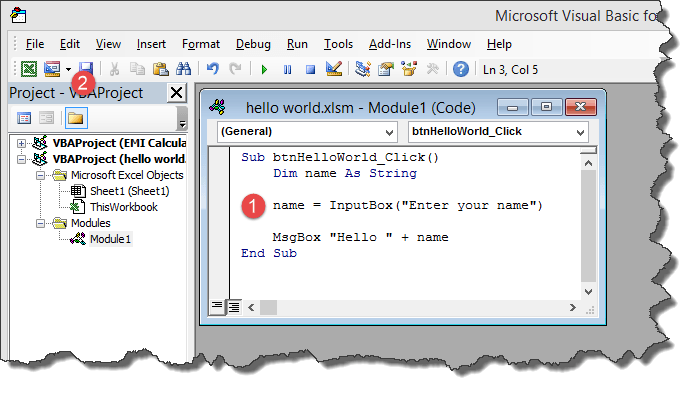 generate word document from excel macro