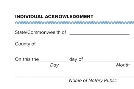 steps to notarize a document