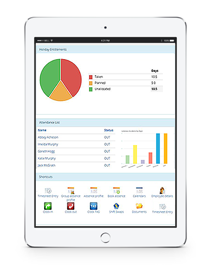 documentation of employee leave management system software
