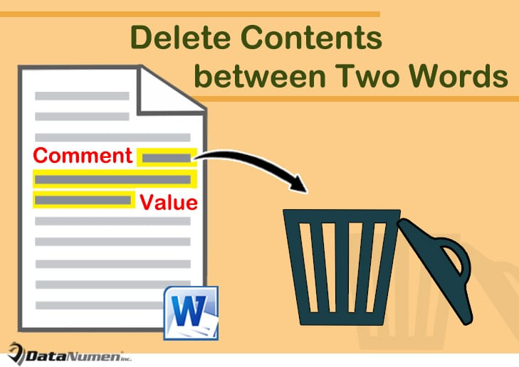 word keeps deleting document content