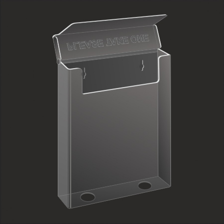 a4 document holder wall mounted with lid