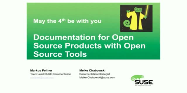 open source documentation tools