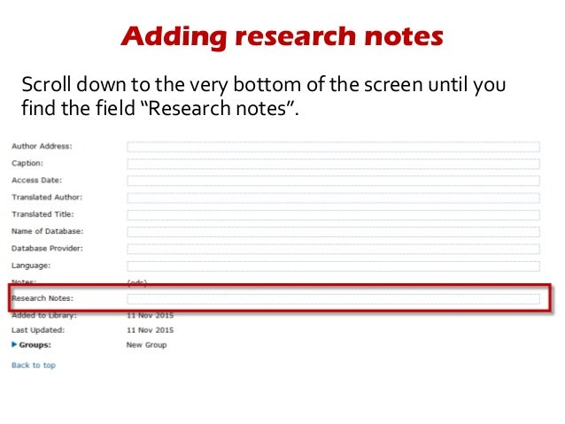 add references endnote to document