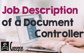 iso document controller job description