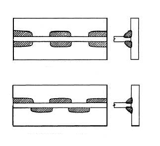 hit and miss fillet weld documentation