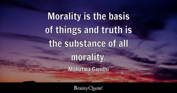 church document moral principles quote