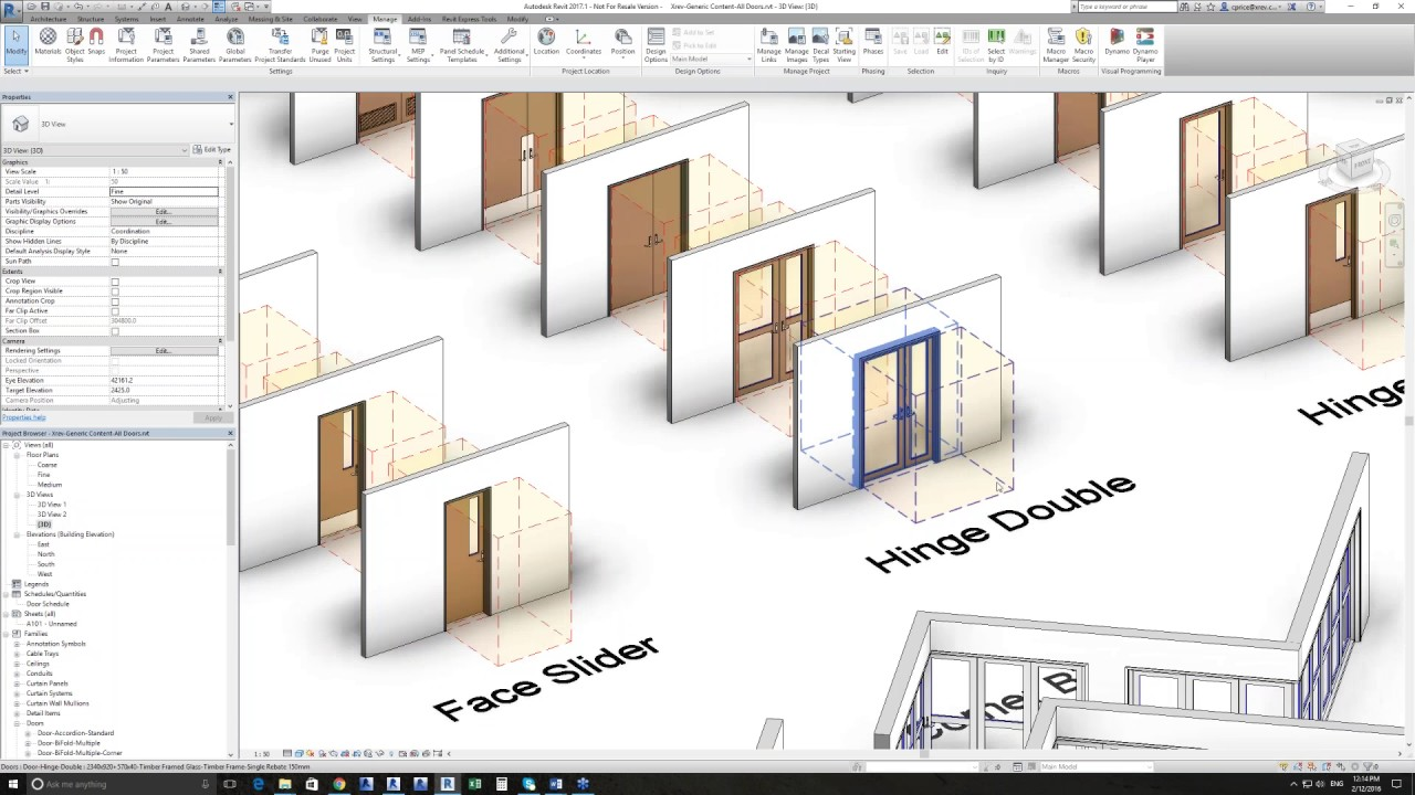 construction documentation in revit