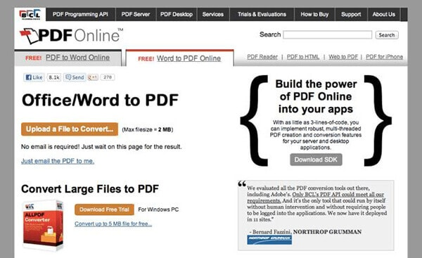 convert pdf to word document online free without email